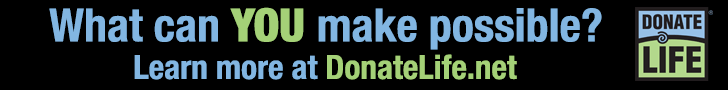 Donate for Life Banner